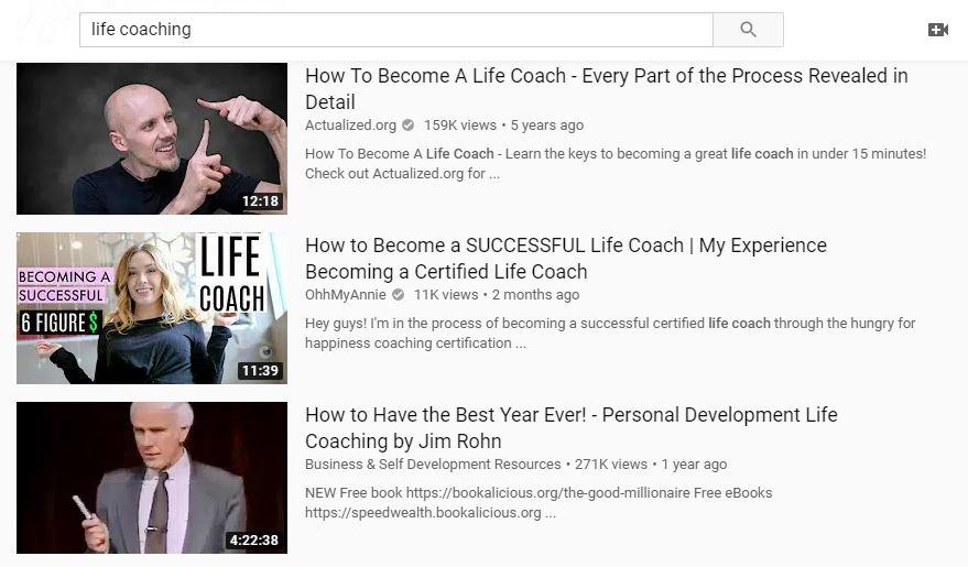 Channel Description helps YouTube