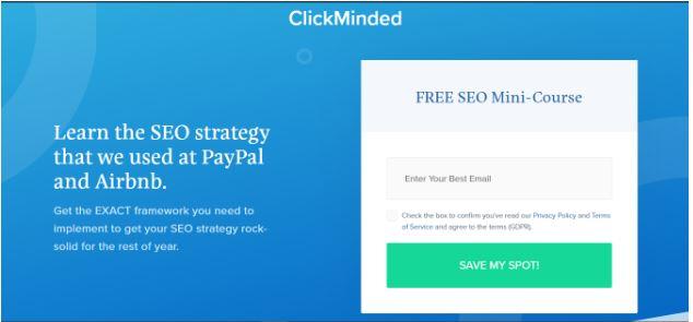 Click Mind - SEO Online Course
